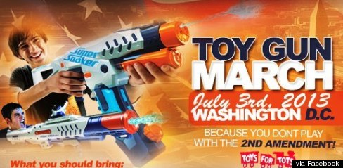 toy gun march