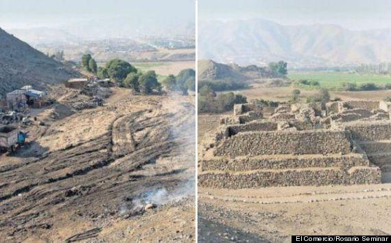 el comercio lima peru ancient pyramid