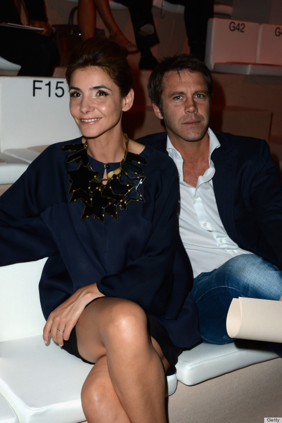 Clotilde Courau Fashion Week