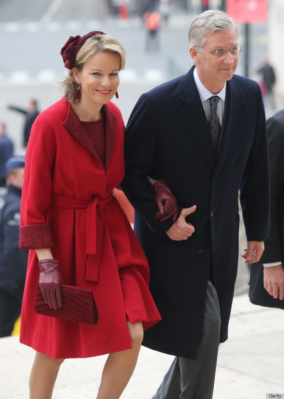 Princess Mathilde Of Belgium Set For Queen Consort Role As King ... 2db239aee