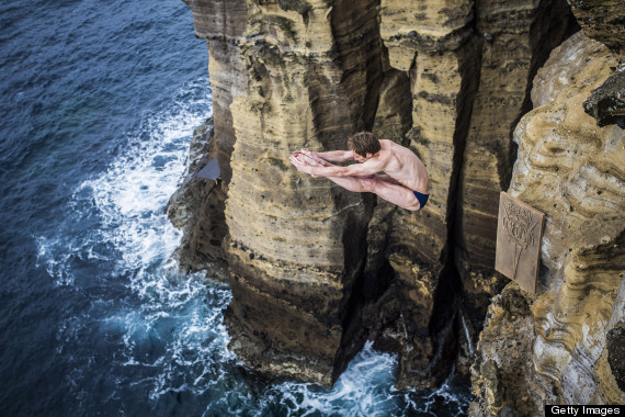 gary hunt cliff diver
