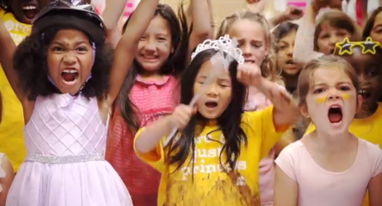 WATCH: Little Girls Crush Gender Stereotypes In Under 2 Minutes