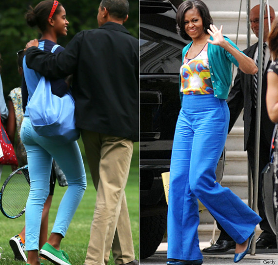 Photo Of Malia Obama >> Malia Obama Totally Took A Few Style Tips From Her Mom (PHOTOS) | HuffPost