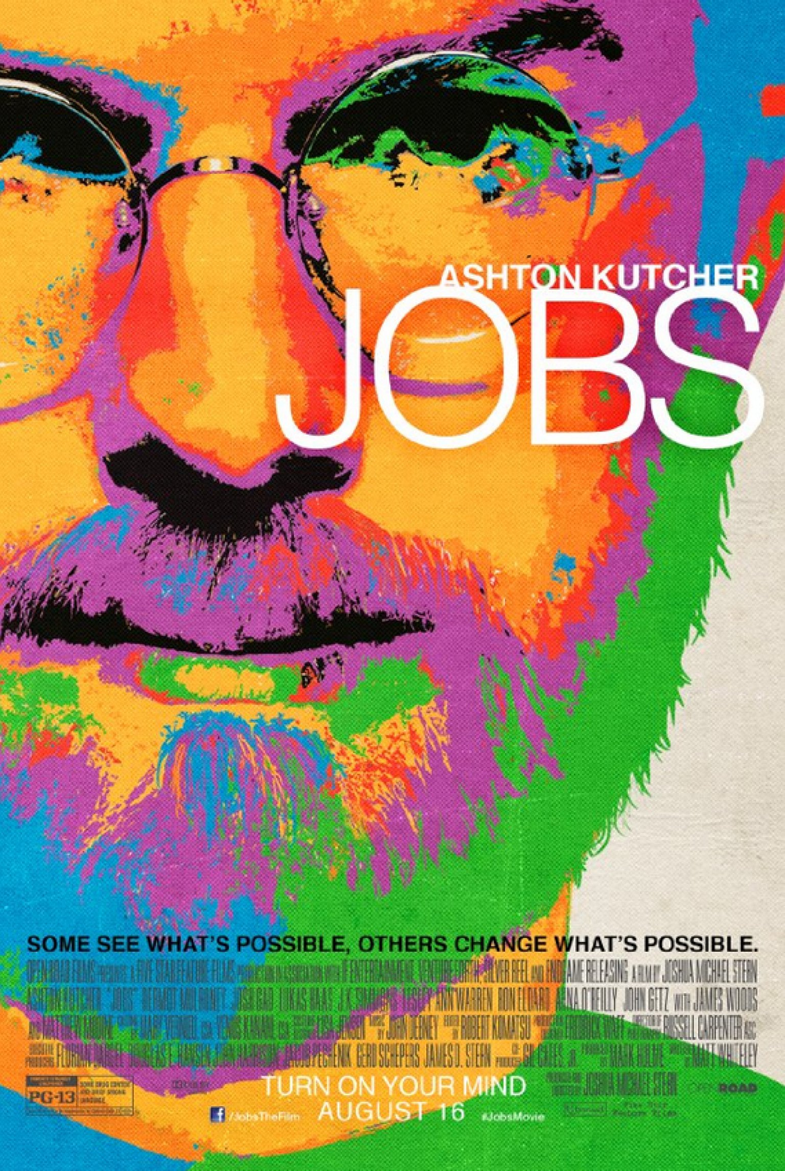Poster design jobs -  Jobs Movie Poster Looks Like The Old Ipod Ads Huffpost