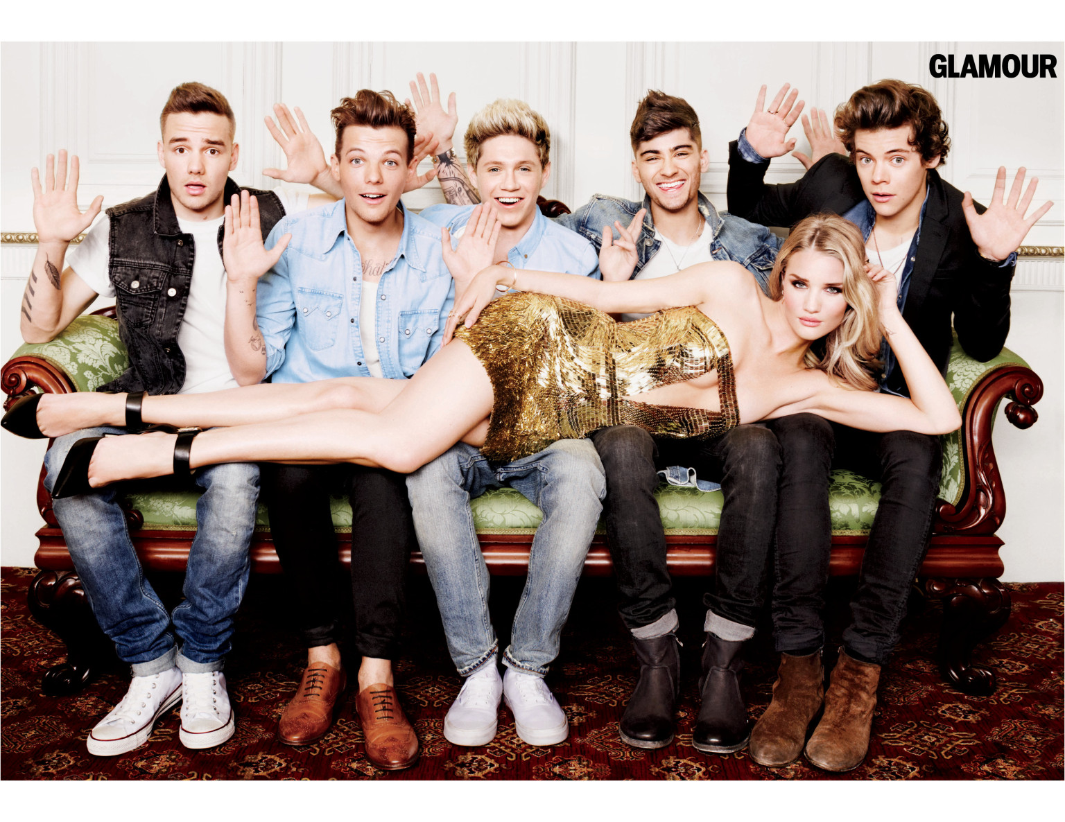 One Direction Photo: One Direction 'Glamour' Interview: Boy Band Cover August