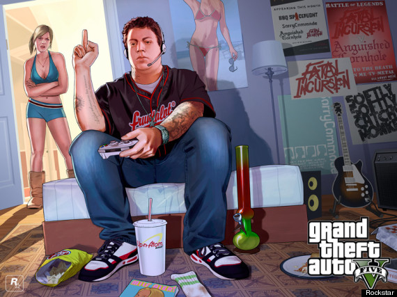 GTA 5: Beautiful New Grand Theft Auto 5 Artwork Released (SCREENSHOTS)