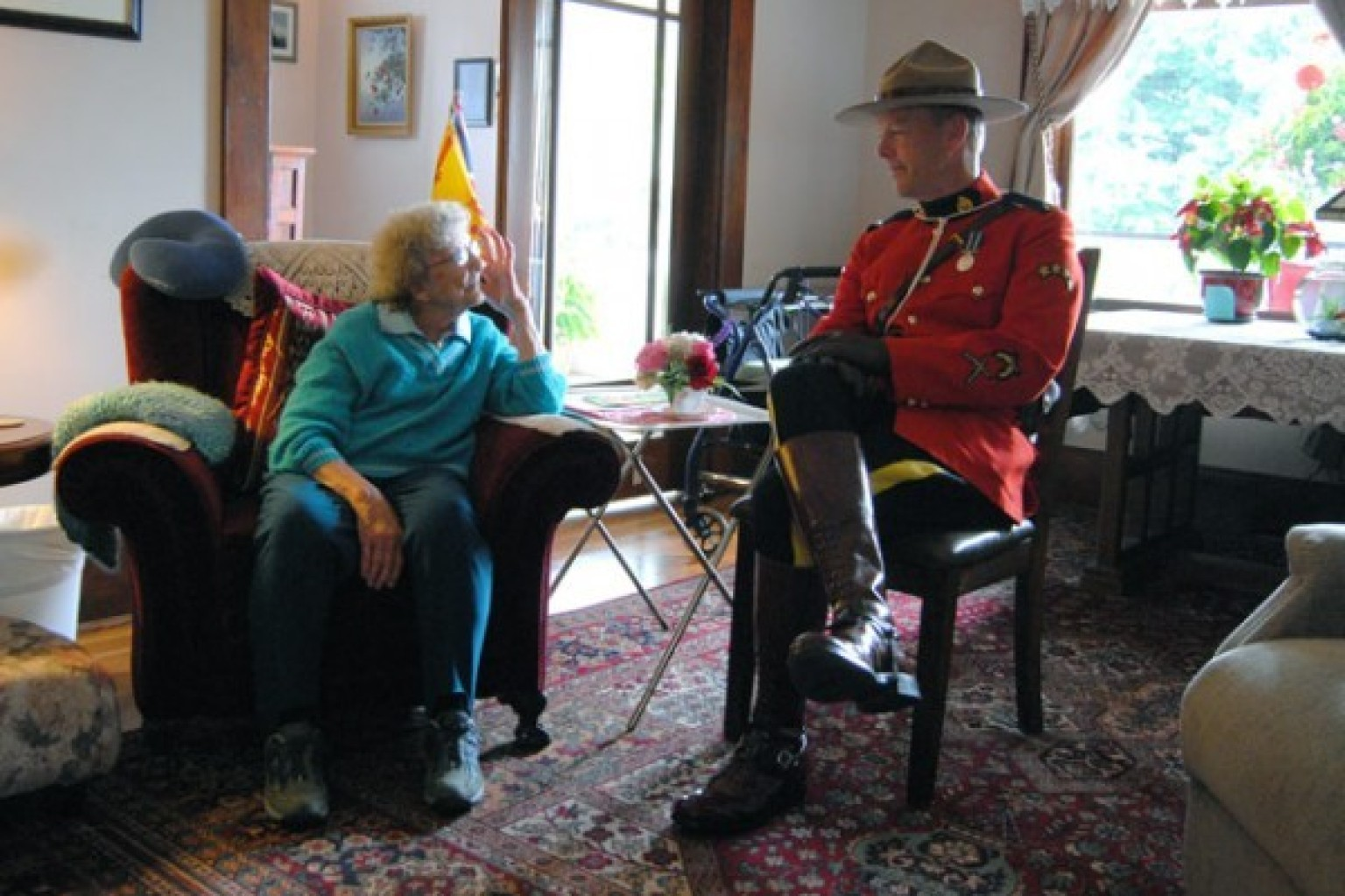 Technology Management Image: Jenny Stewart's Mountie Dream Comes True 78 Years Later