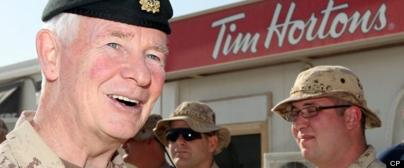 TIM HORTONS MILITARY LOCATIONS