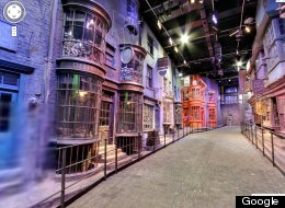 PICS: Google Adds Harry Potter's Diagon Alley To Street View
