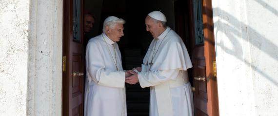 FRANCESCO BENEDETTO XVI