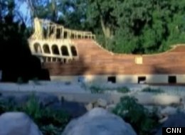 WATCH: Man Building Homemade Pirate Ship For Wedding