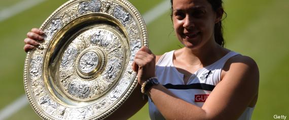 Marion Bartoli campeona Wimbledon