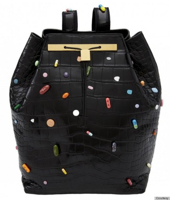 Lady Gaga Gives $55K Backpack By Damien Hirst & The Row To ...