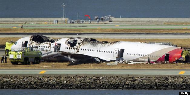 Asiana Airlines Flight 214 Crash-Lands At San Francisco ...