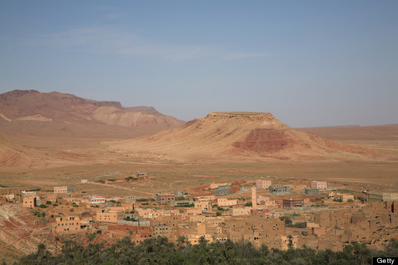 high atlas foothills