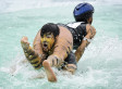 Wife-Carrying: Possibly The Most Bizarre of Couples Activities? (PICTURES)
