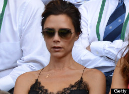 Posh Wore THIS To Wimbledon?