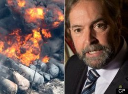 Lac-Megantic mulcair