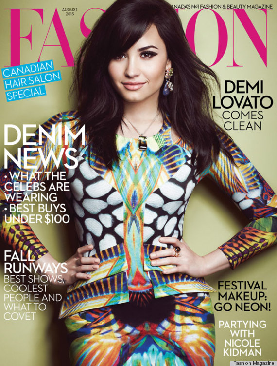Demi Lovato's Fashion Magazine Shoot Is Upscale