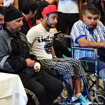 blessés de la révolution ajroudi