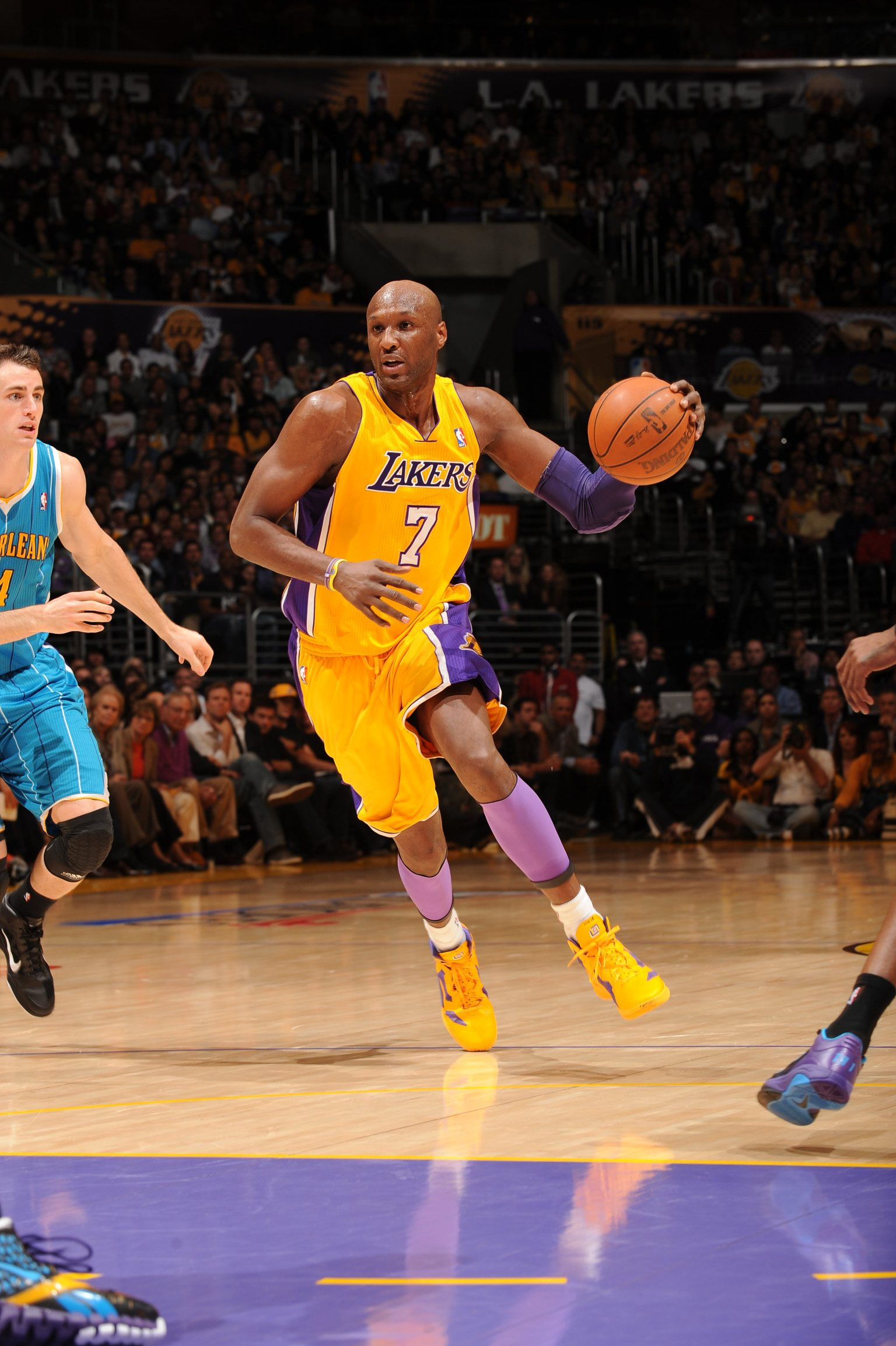 Lamar Odom Lakers Reunion Los Angeles ReportedlyLakers