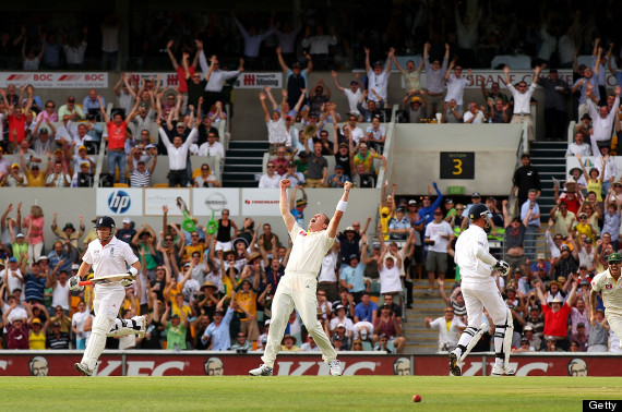 peter siddle hat trick gabba