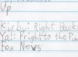 Cute Kid Note Of The Day: 9-Year-Old's Honest Opinion Of Fox News