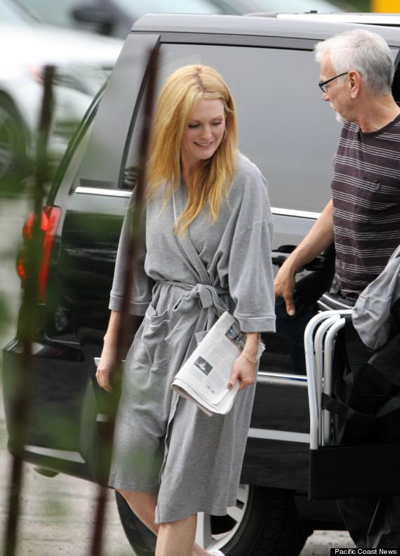 julianne moore blonde