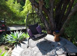 WATCH: Celebrity Couple's Serene Backyard Escape
