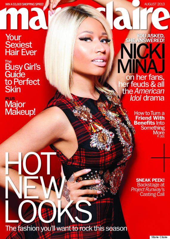 Nicki Minaj Marie Claire Cover: Rapper Finally Gets The Punk Look Right (PHOTOS, VIDEO) | HuffPost