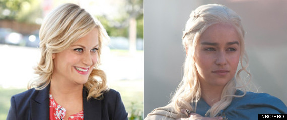 AMY POEHLER PARKS AND REC GAME OF THRONES