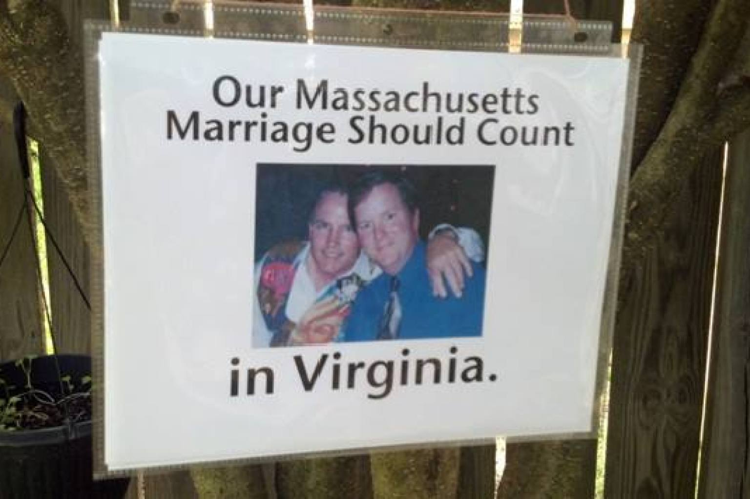 Gay marriage in virginia