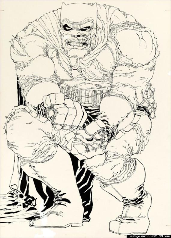 batman cover frank miller