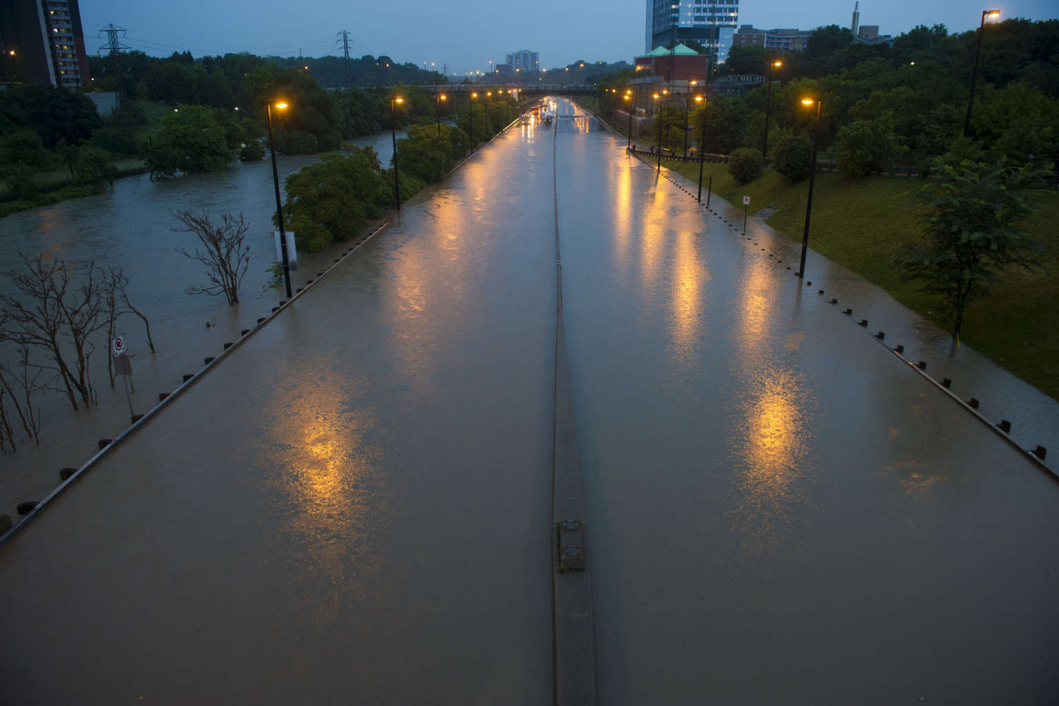 Toronto Floods 2013 More Rain Expected As Region Dries