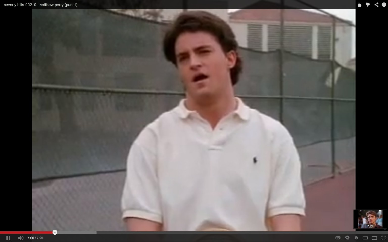 young matthew perry was on beverly hills 90210