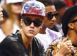Justin Bieber Pees Into Restaurant Mop Bucket, Curses Off Bill Clinton For No Apparent Reason (VIDEO)