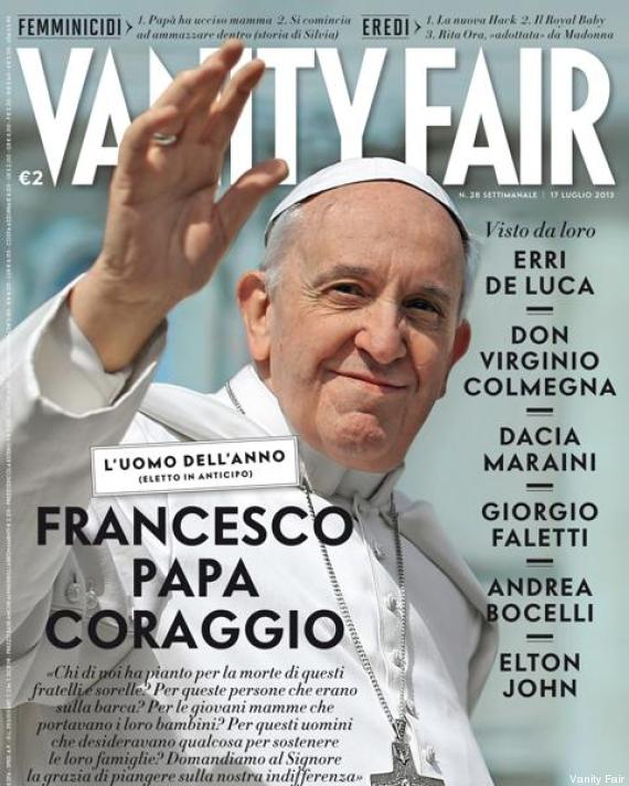 vanity fair papa francisco
