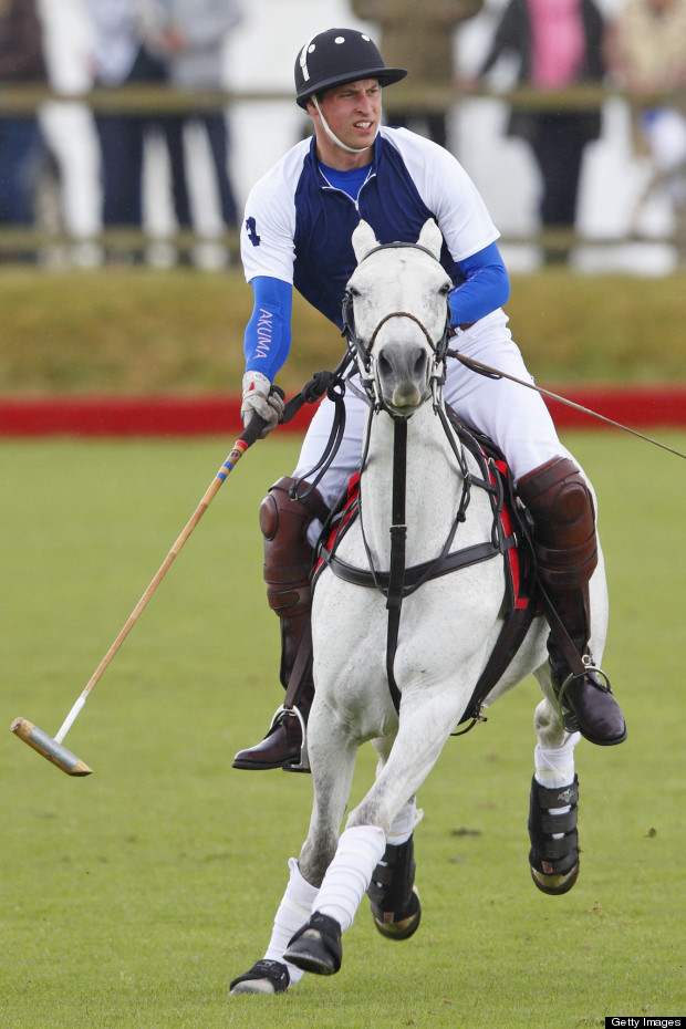prince william polo match