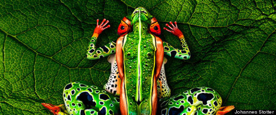 Johannes Stotter Body Paintings