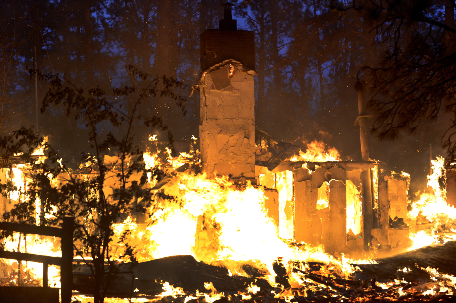 Denver Tax Rate >> Black Forest Fire Destroyed 486 Homes, Caused More Than $85 Million In Damage