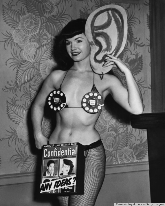 Betty Page Photos: Are These The Most Iconic Bras Ever? (PHOTOS)