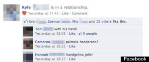 Facebook Status Hand Joke