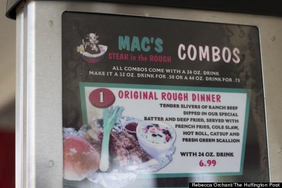 macs steak in the rough