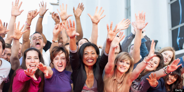 cheerful being person happy heart huffpost attacks likely suggests less study experience getty