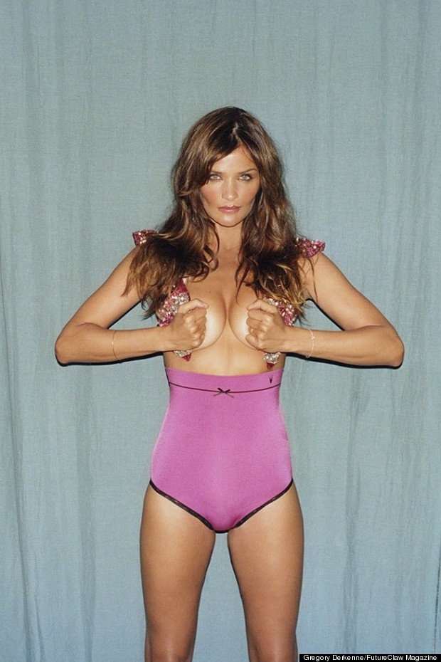 helena christensen future claw