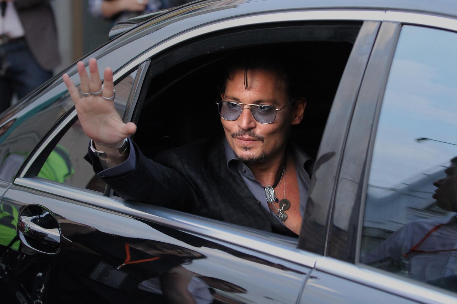 Johnny Depp In Mortdecai For David Koepp Lone Ranger