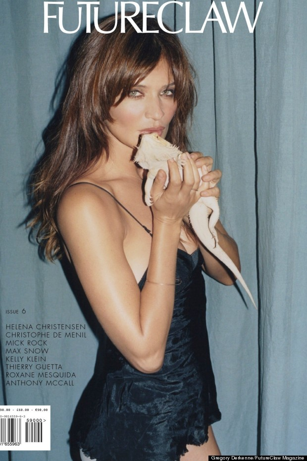 helena christensen futureclaw cover