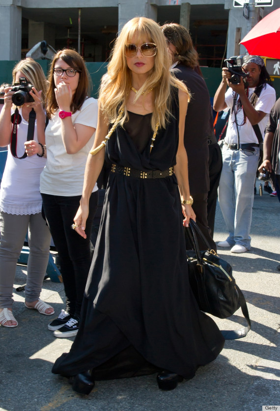 Black Maxi Dresses Are Totally Rachel Zoe 39 S Go To Look