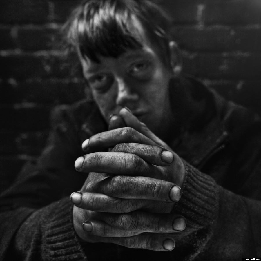 Homeless People Portraits Photography By Lee Jeffries: Lee Jeffries' Portraits Of Homeless Men And Women Are