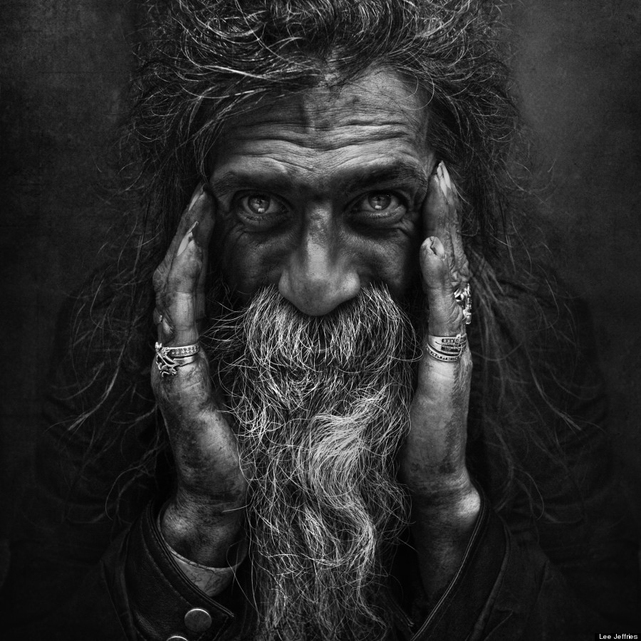 Photography world with his striking series of black and white portraits of homeless men and women his subjects come from london los angeles paris